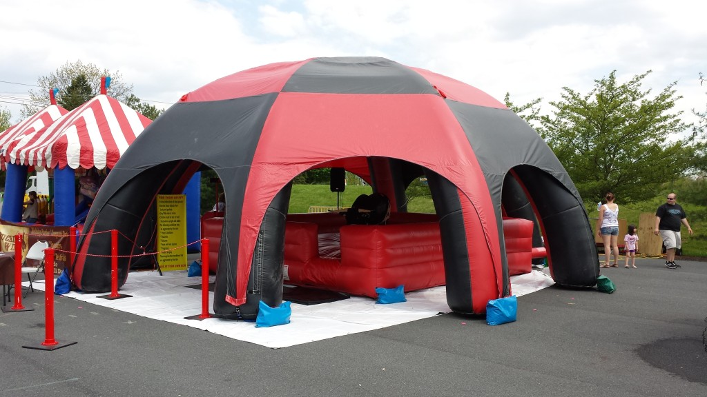 Maryland Bull Riding Tent
