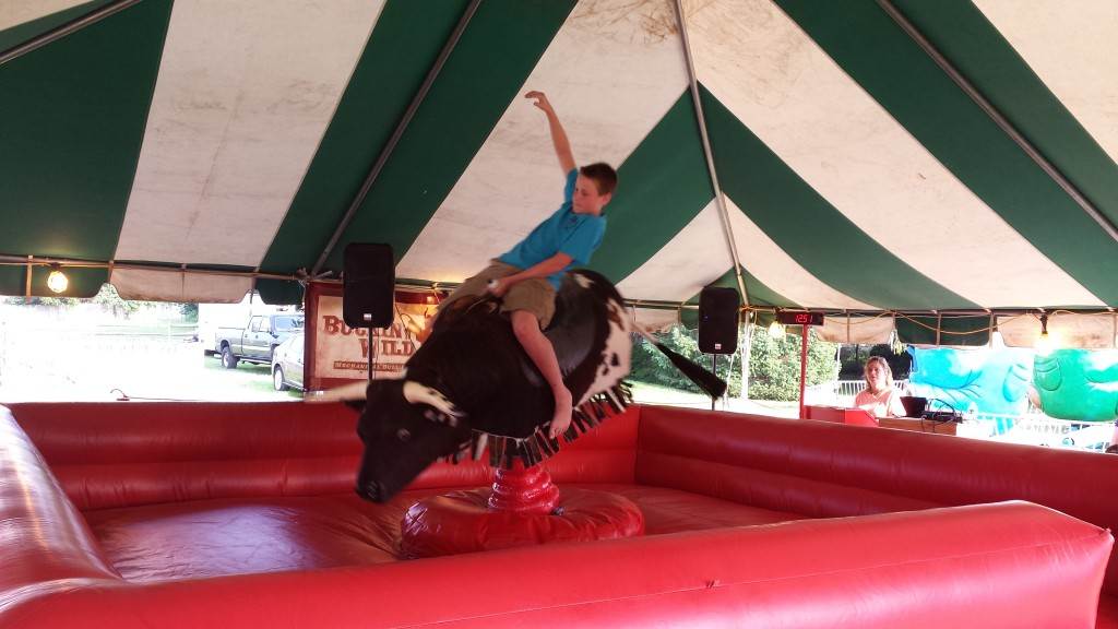 mechanical bull birthday party