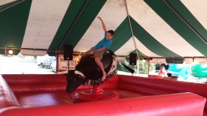 mechanical bull child rider