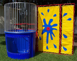 dunk tank birthday party rental