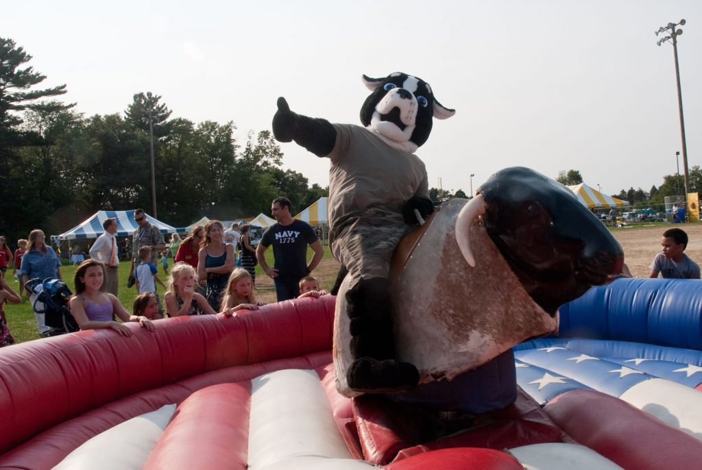 birthday party bull ride rental in Maryland