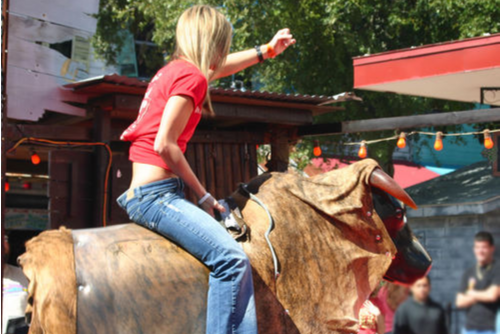 mechanical bull safe for kids